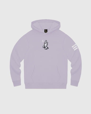 6 GOD HOODIE - LIGHT PURPLE