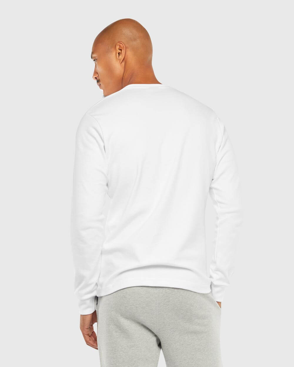 OVO ESSENTIALS LONGSLEEVE T-SHIRT - WHITE IMAGE #3