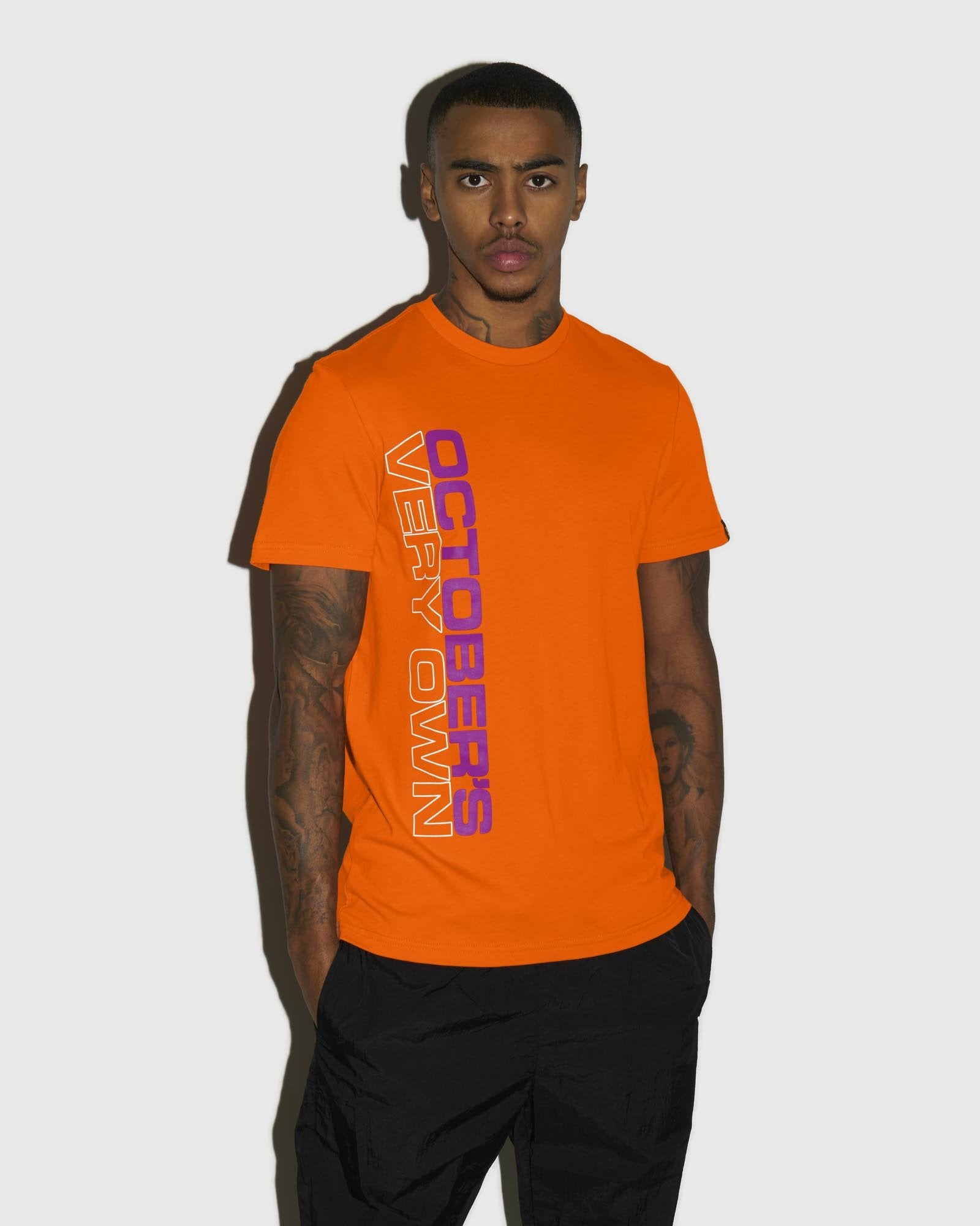 OCTOBER OUTLINE T-SHIRT - ORANGE IMAGE #2