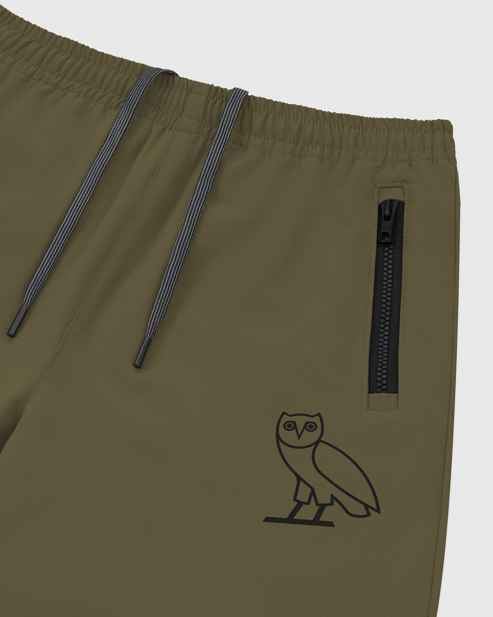 OVO 4-WAY STRETCH SWEATPANT - LIGHT STONE GREEN IMAGE #4