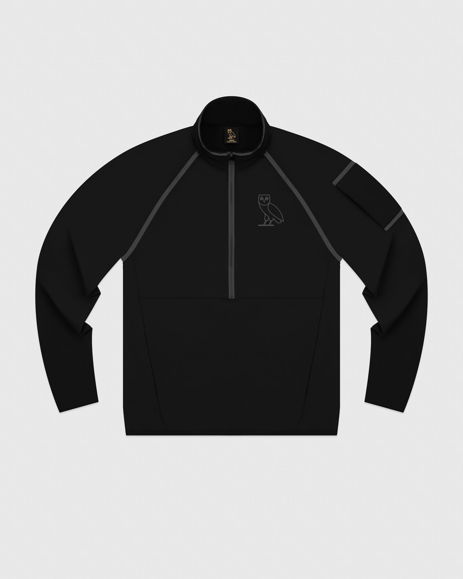 OVO 4-WAY STRETCH ANORAK - BLACK IMAGE #1