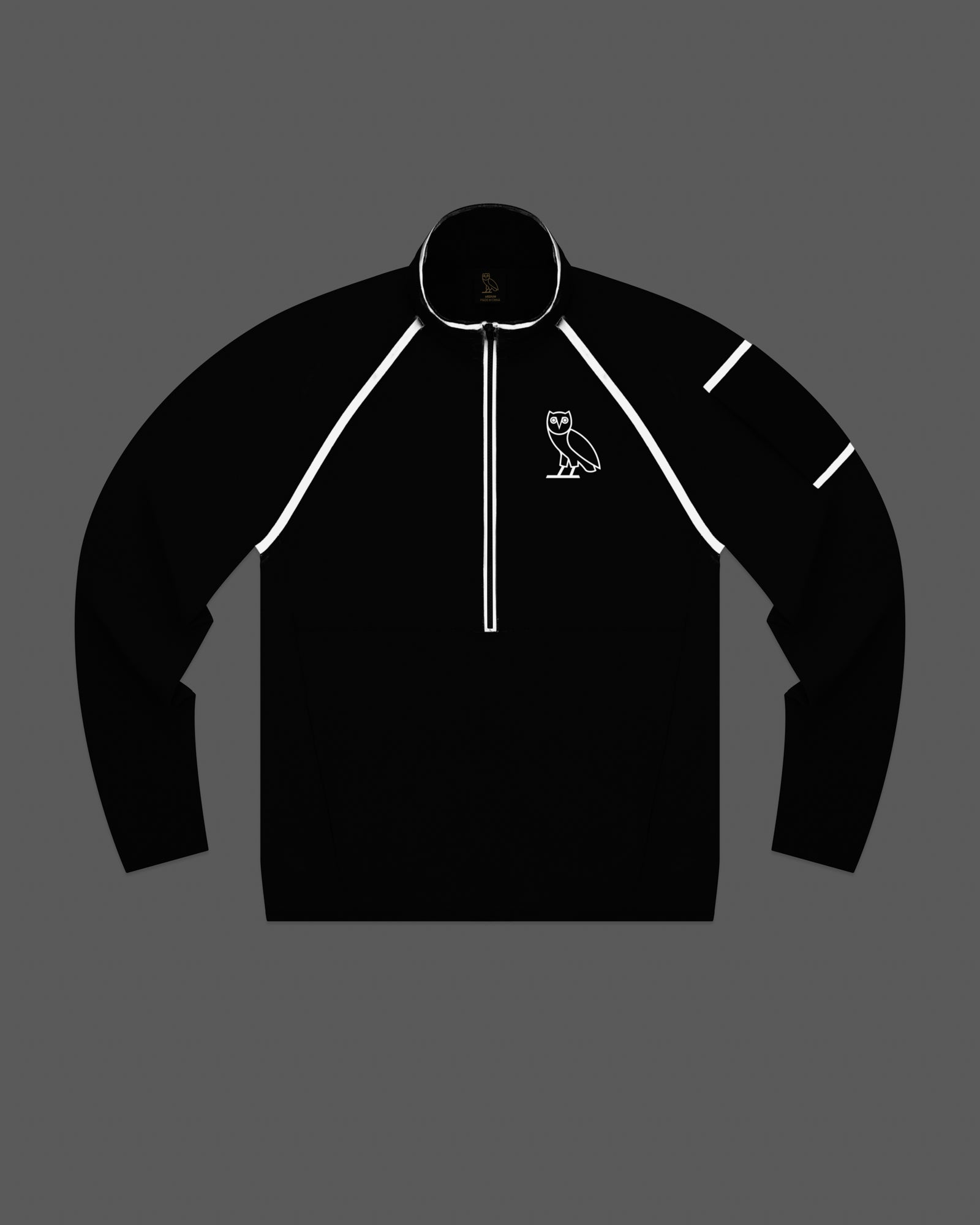 OVO 4-WAY STRETCH ANORAK - BLACK IMAGE #3