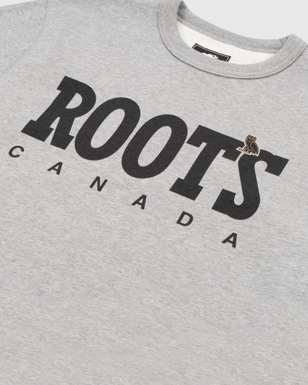 OVO x ROOTS CREW - HEATHER GREY