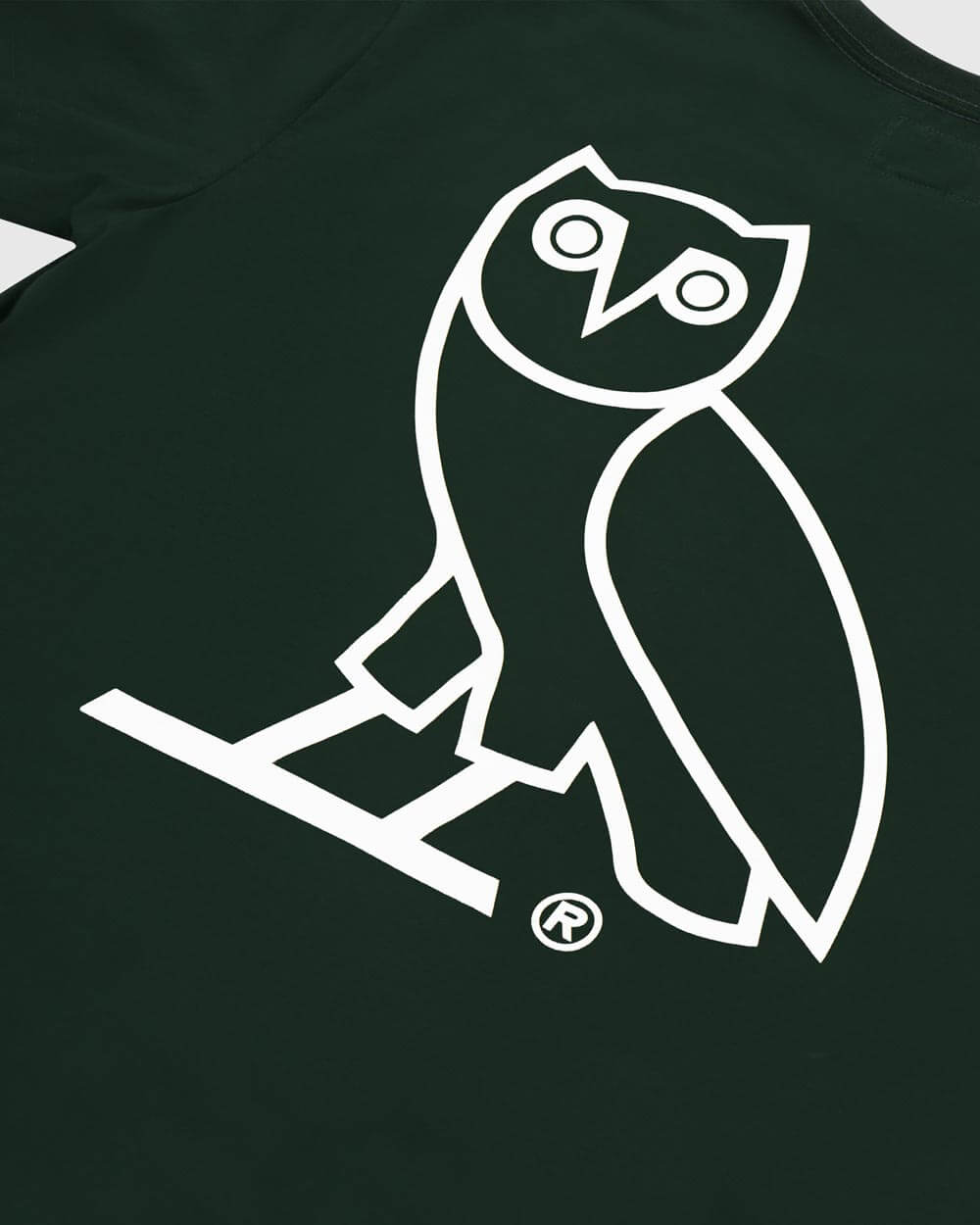 OVO x ROOTS T-SHIRT - PARK GREEN