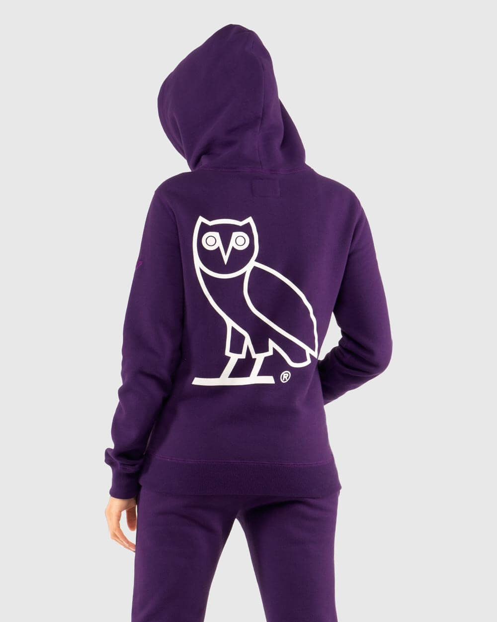 OVO x ROOTS WOMEN'S HOODIE - PURPLE