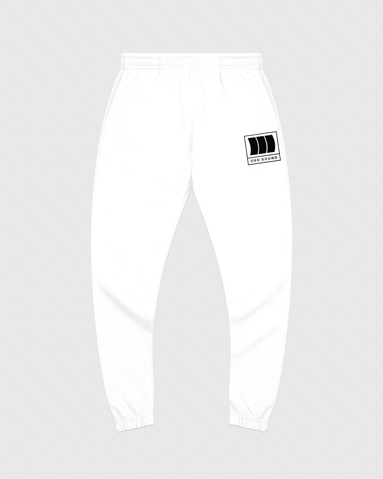 OVO SOUND SWEATPANT - WHITE IMAGE #1