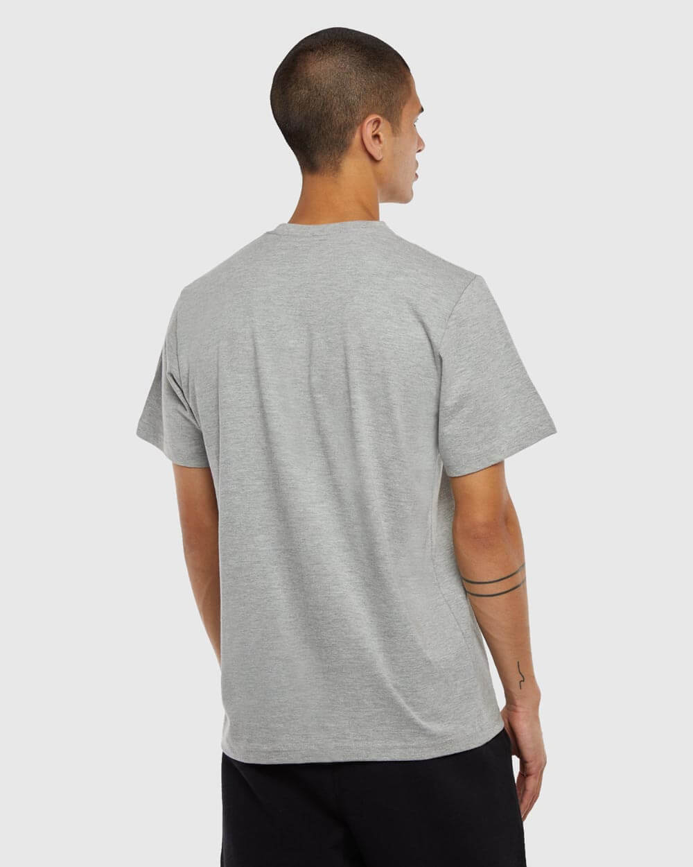 OVO SOUVENIR T-SHIRT - HEATHER GREY