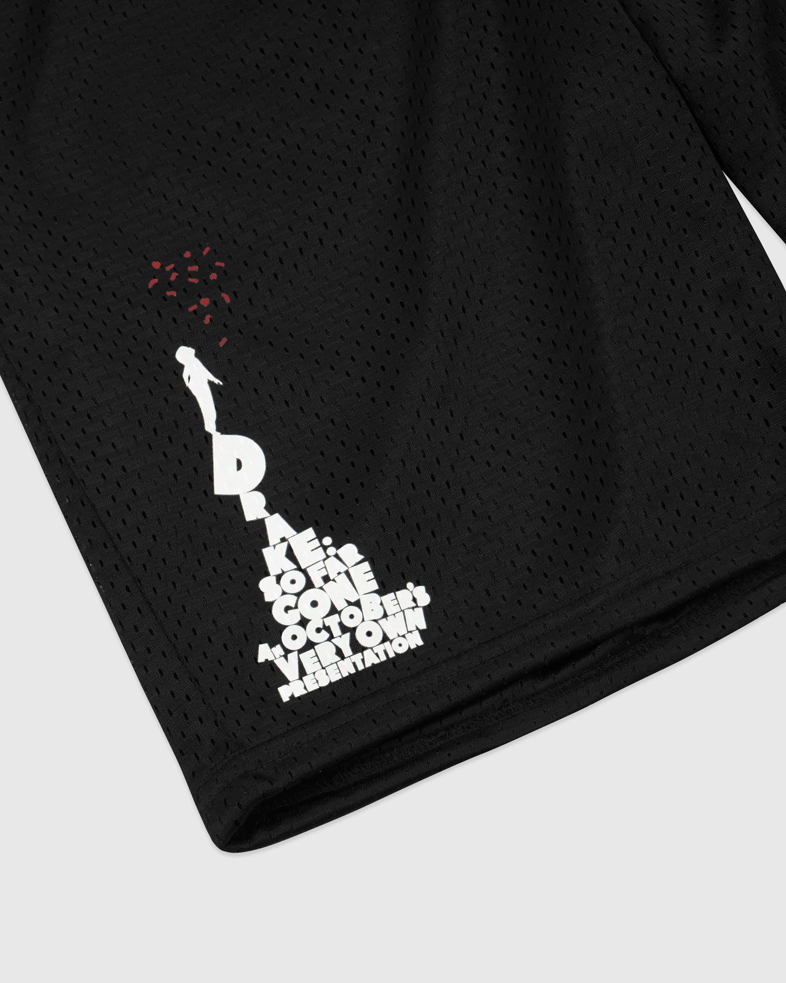SO FAR GONE MESH BASKETBALL SHORT - BLACK IMAGE #3