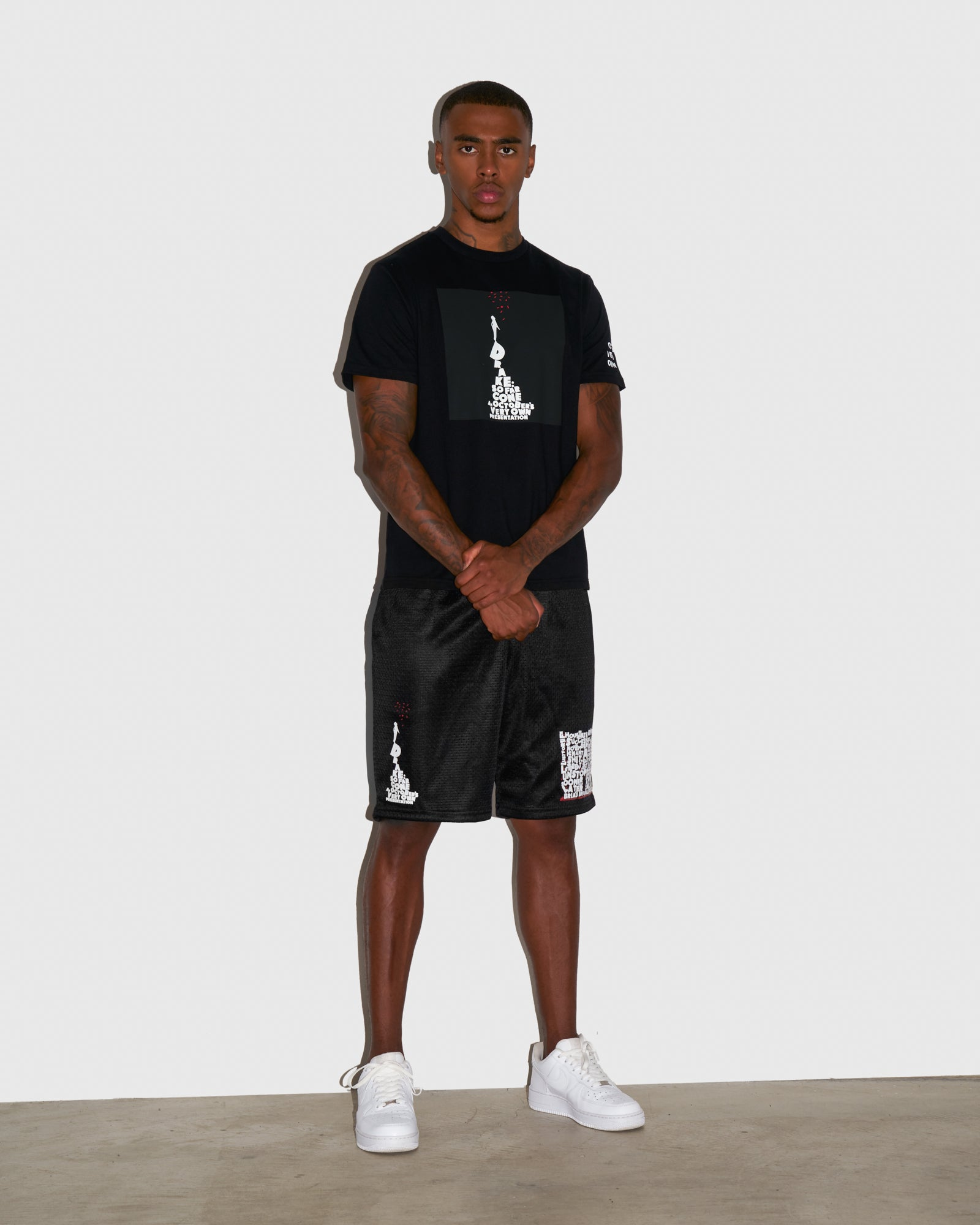 SO FAR GONE MESH BASKETBALL SHORT - BLACK IMAGE #2