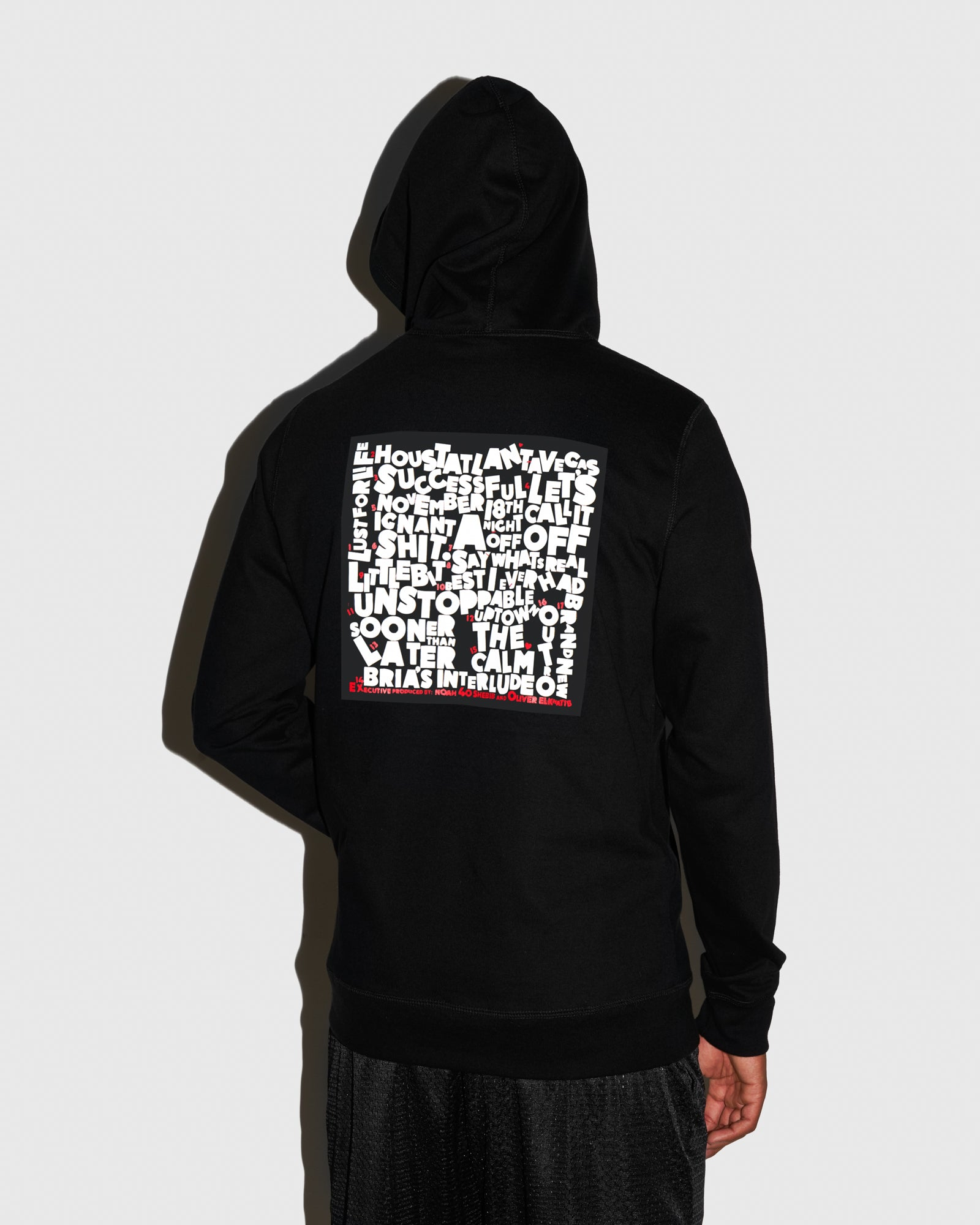 SO FAR GONE HOODIE - BLACK IMAGE #3