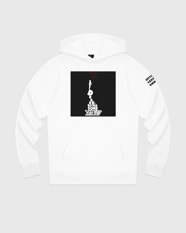SO FAR GONE HOODIE - WHITE