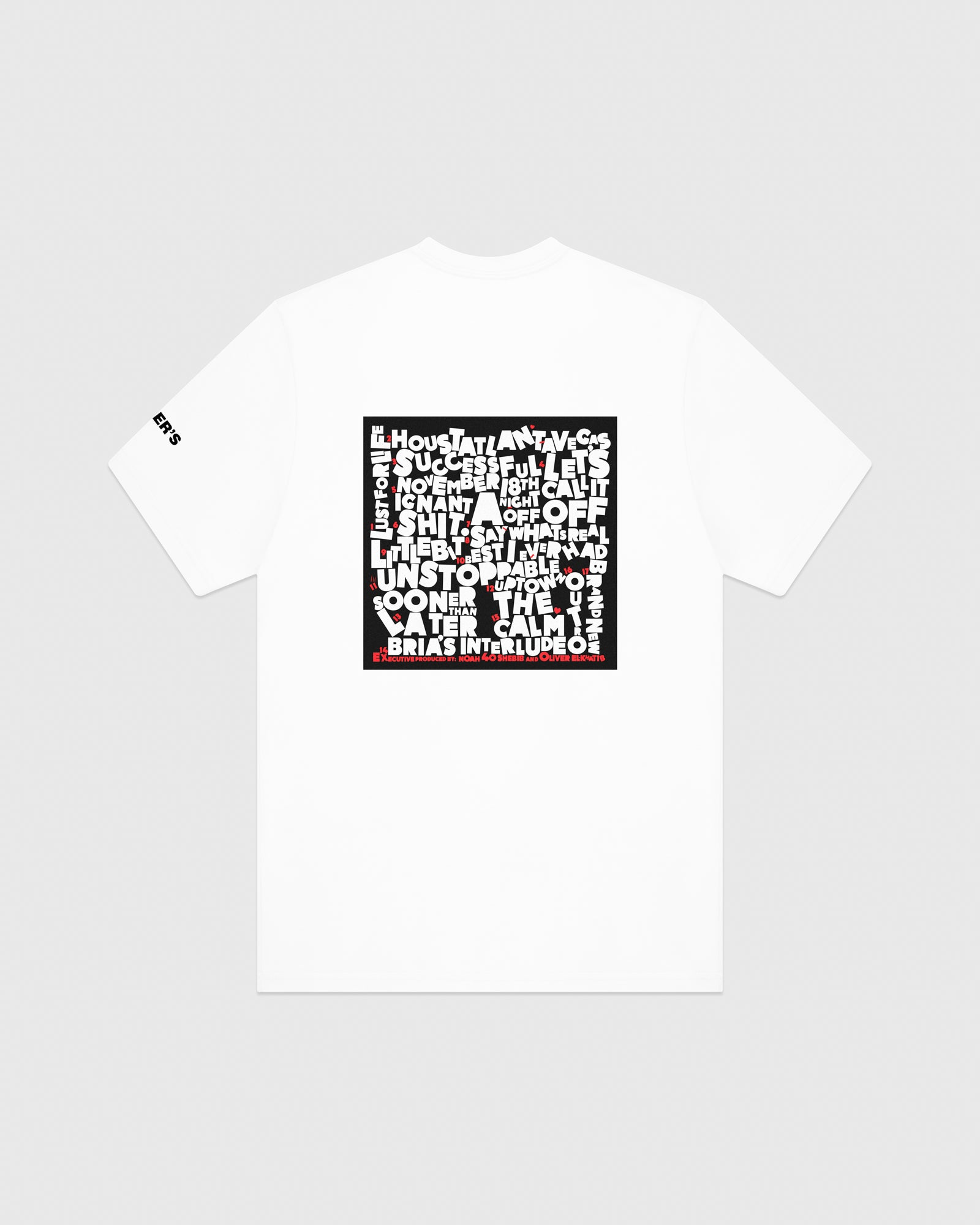 SO FAR GONE T-SHIRT - WHITE IMAGE #5