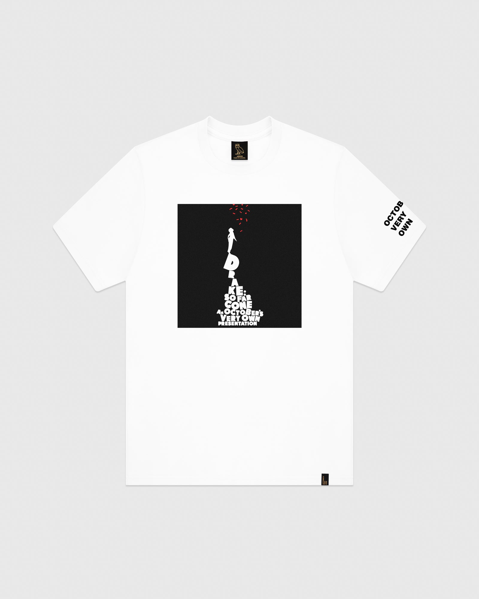SO FAR GONE T-SHIRT - WHITE IMAGE #1