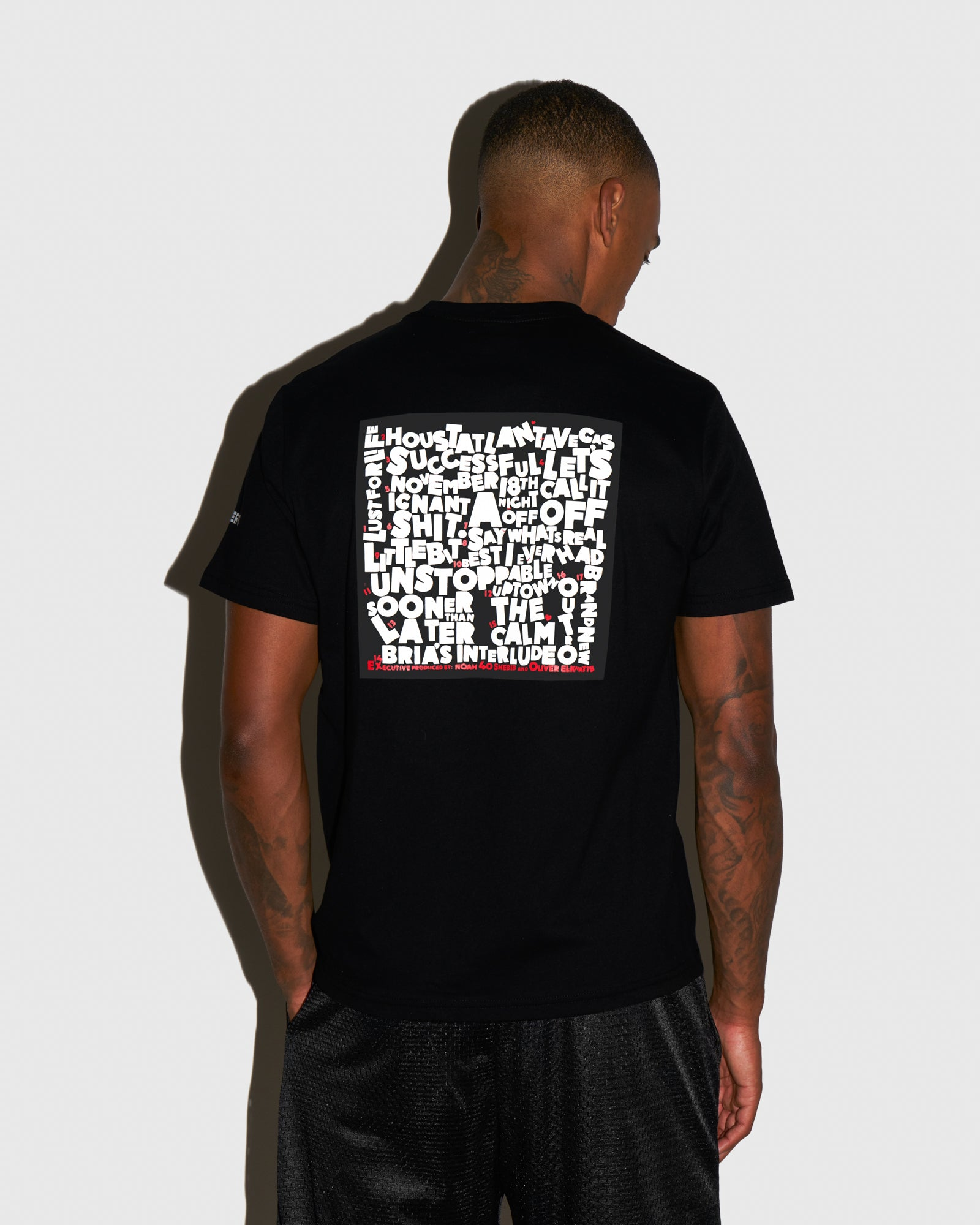 SO FAR GONE T-SHIRT - BLACK