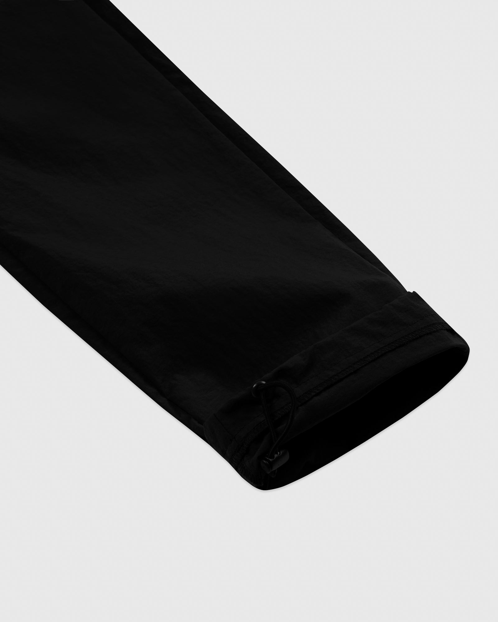 TASLAN ZIP POCKET PANT - BLACK IMAGE #5
