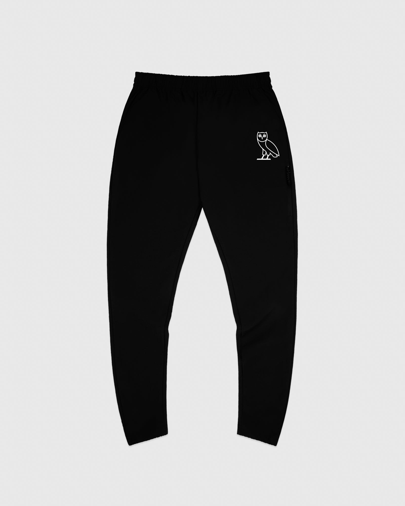 TASLAN ZIP POCKET PANT - BLACK IMAGE #1