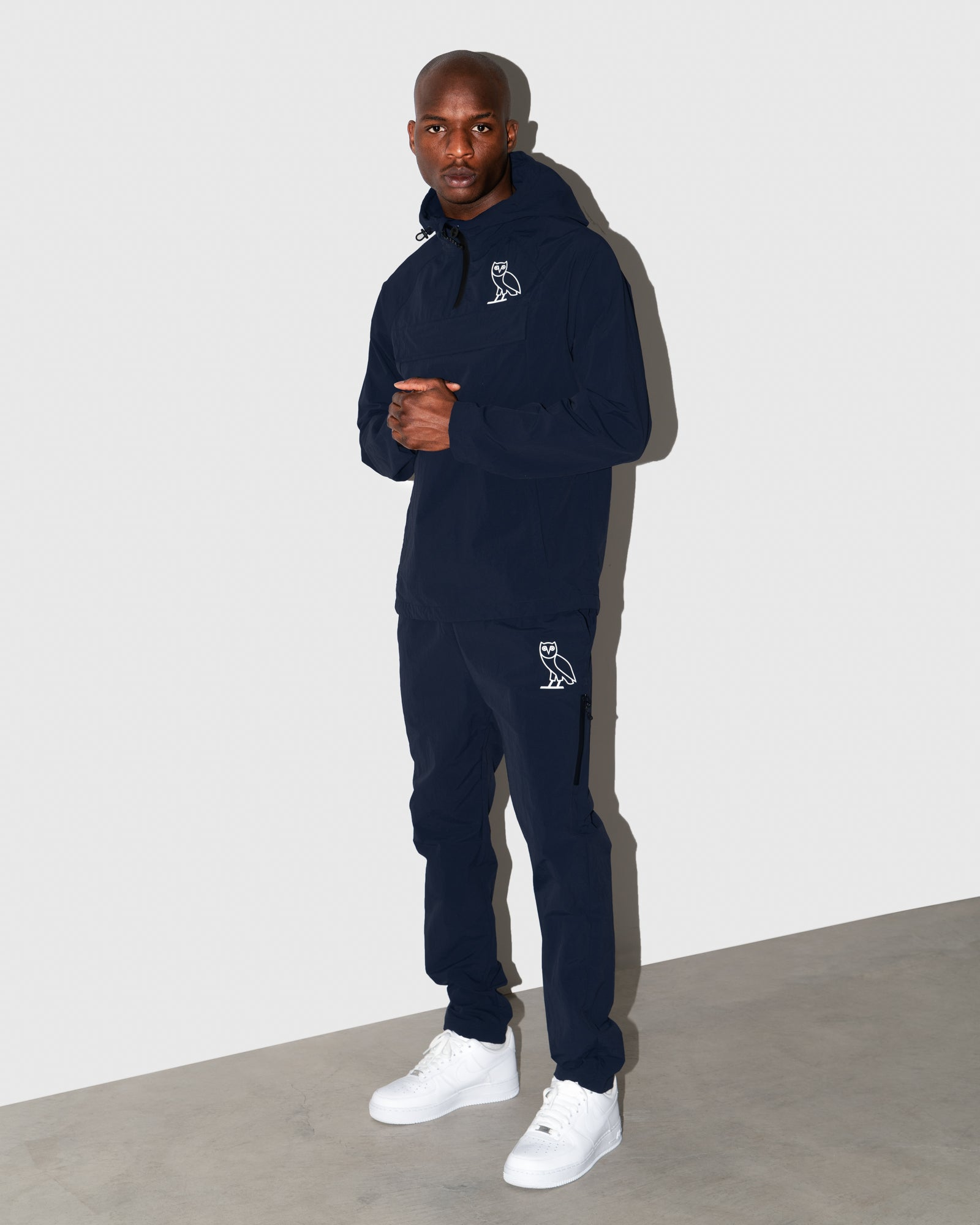 OVO NYLON SPLASH PANT - NAVY IMAGE #2