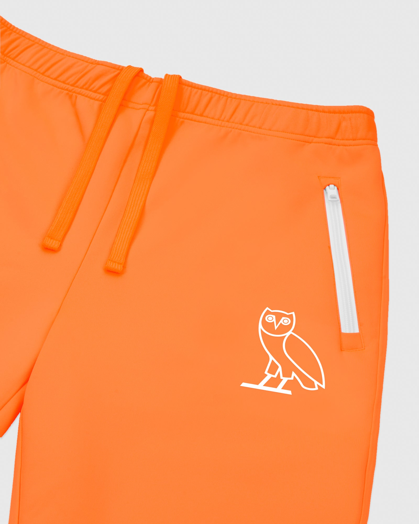 OVO INTERLOCK PANT - NEON ORANGE IMAGE #3