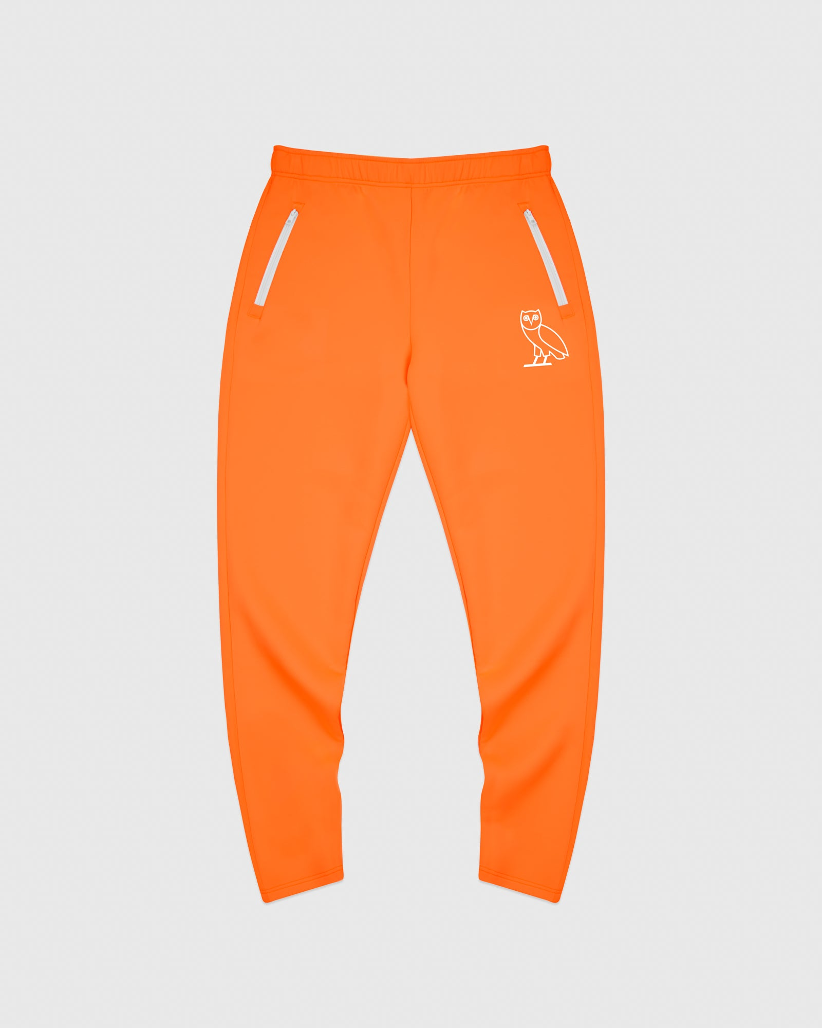 OVO INTERLOCK PANT - NEON ORANGE IMAGE #1