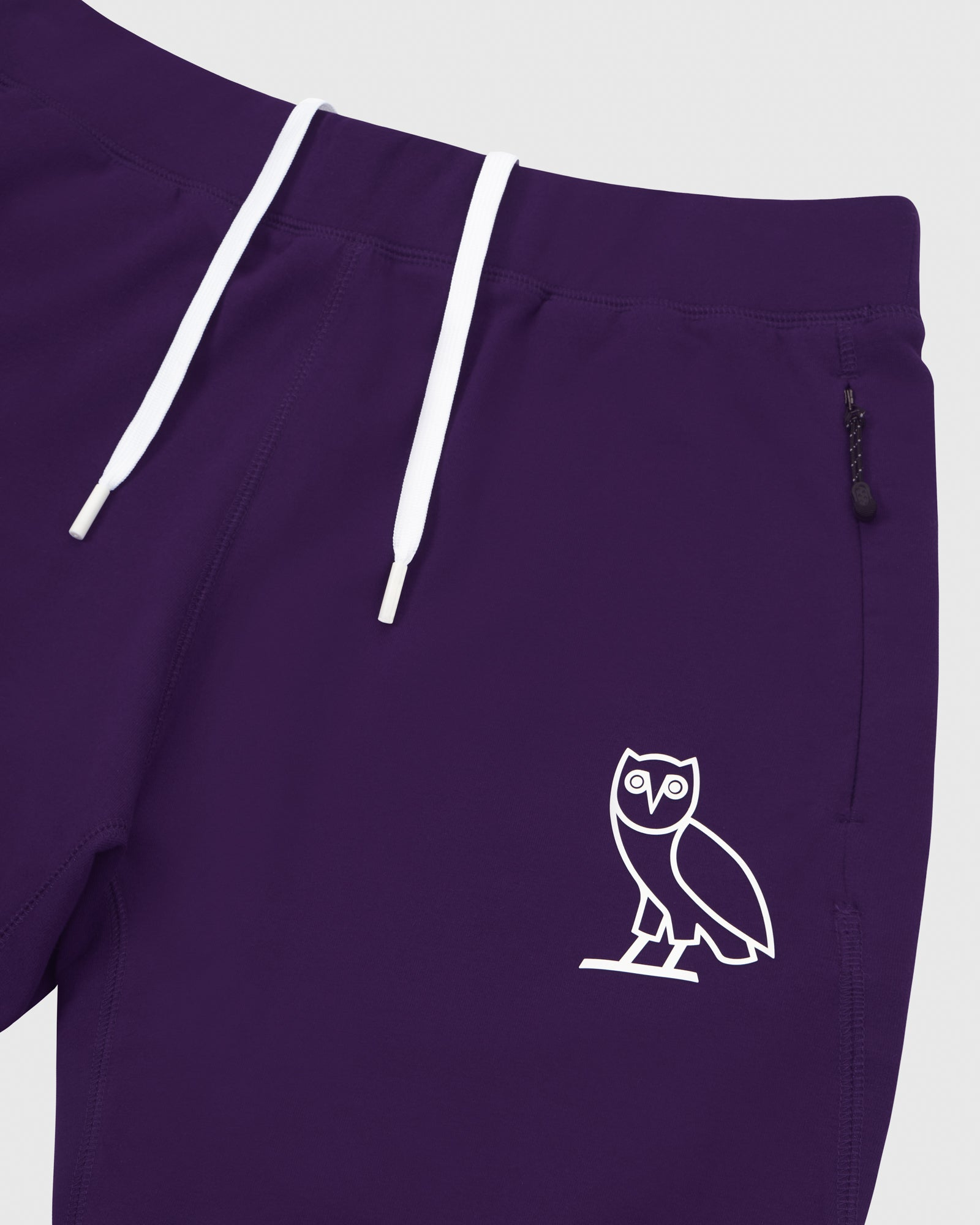 OVO LIGHTWEIGHT FRENCH TERRY SHORT - PURPLE IMAGE #3