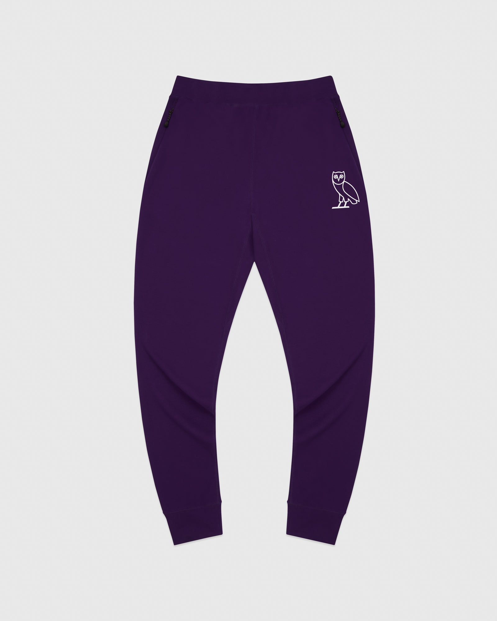 OVO LIGHTWEIGHT FRENCH TERRY SWEATPANT - PURPLE IMAGE #1