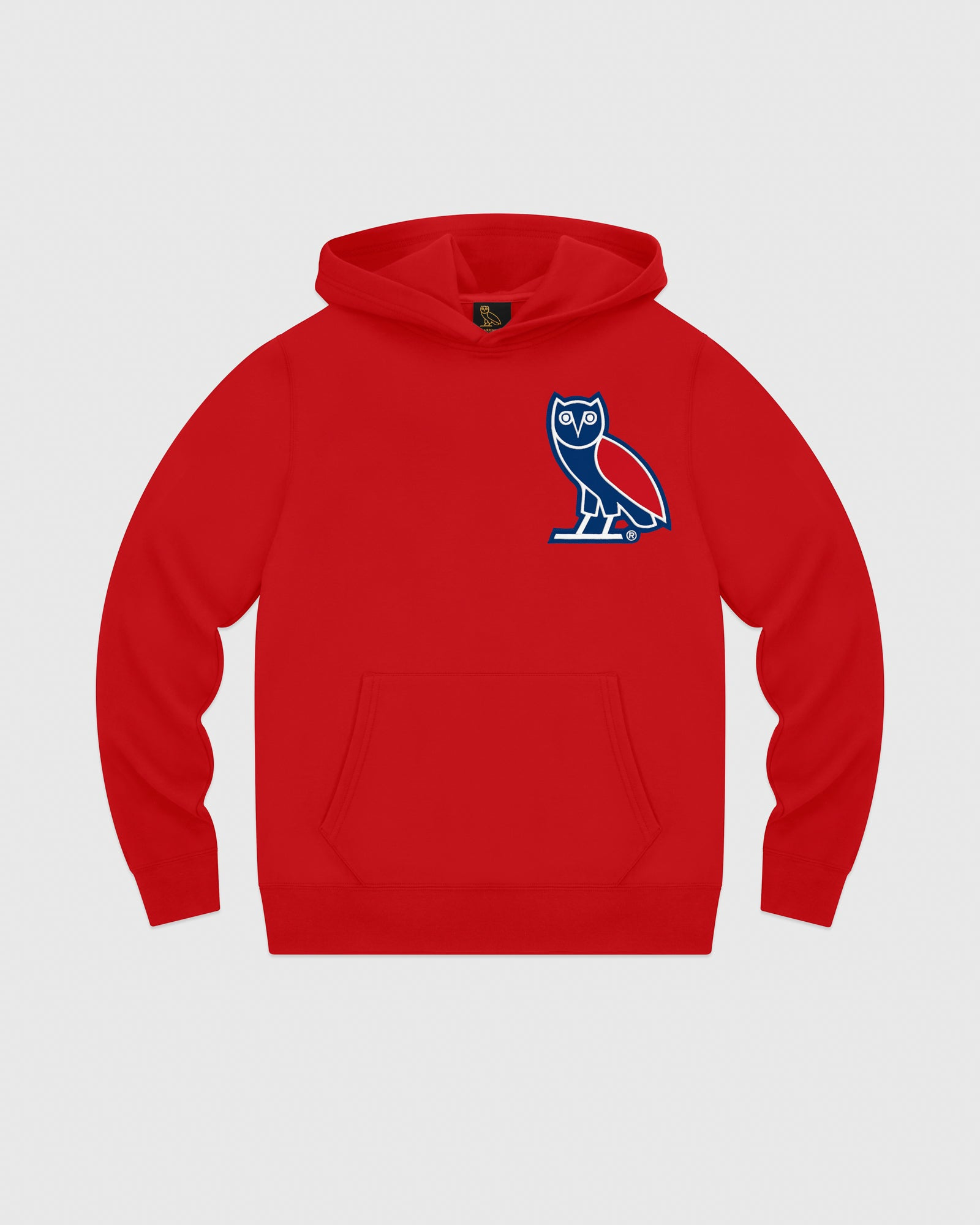 3646e715a381 OVO FRANCHISE DOUBLE KNIT HOODIE - RED – October s Very Own Online US