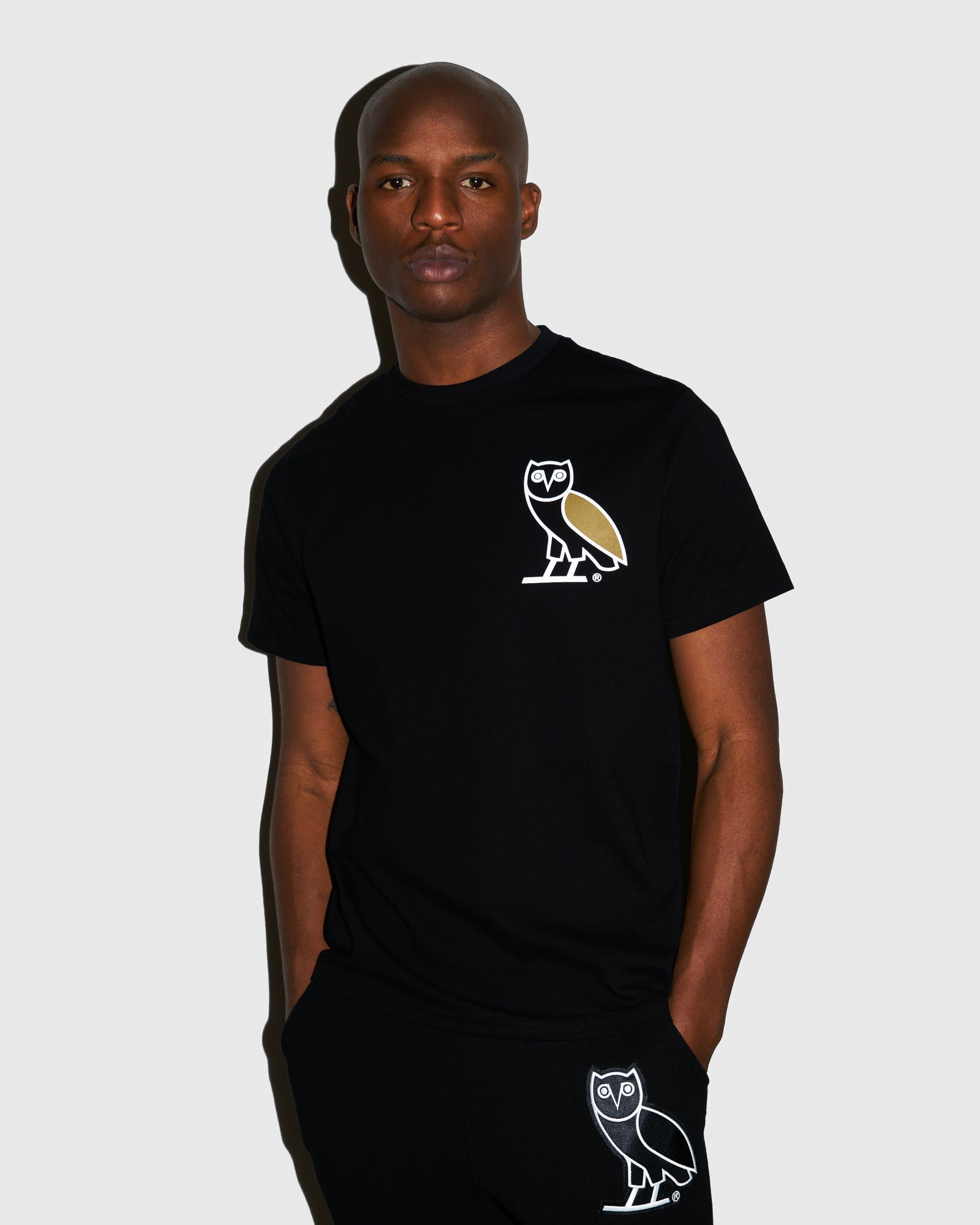OVO FRANCHISE T-SHIRT - BLACK IMAGE #2