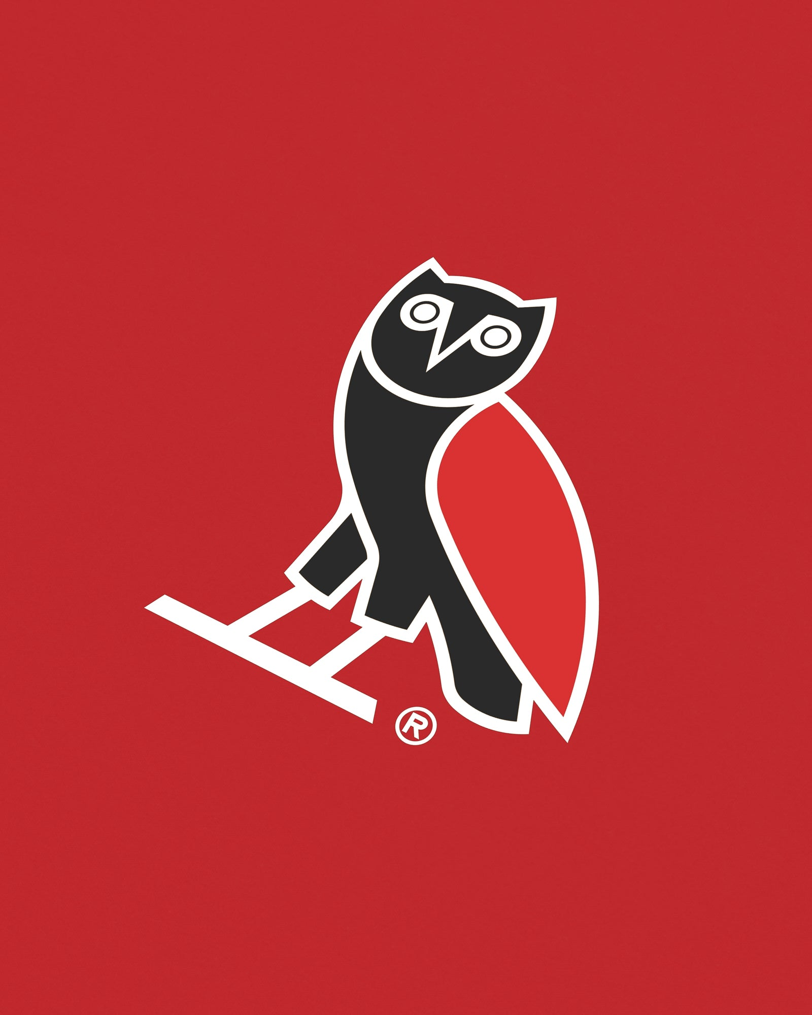 OVO FRANCHISE T-SHIRT - RED