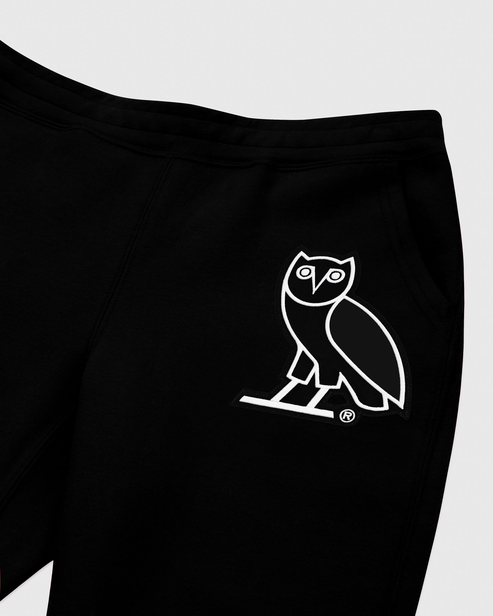 OVO FRANCHISE DOUBLE KNIT SWEATPANT - BLACK IMAGE #3