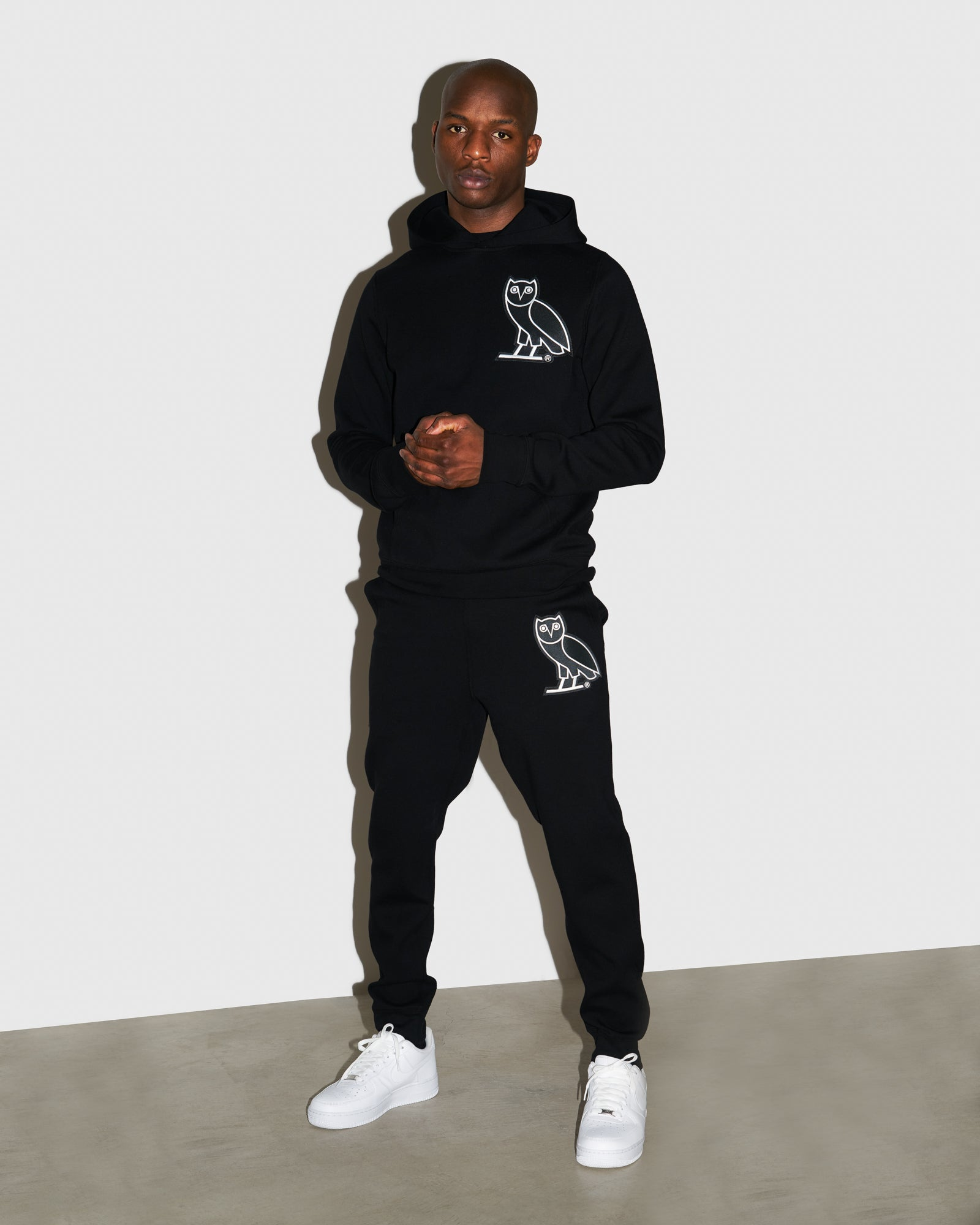 OVO FRANCHISE DOUBLE KNIT SWEATPANT - BLACK IMAGE #2