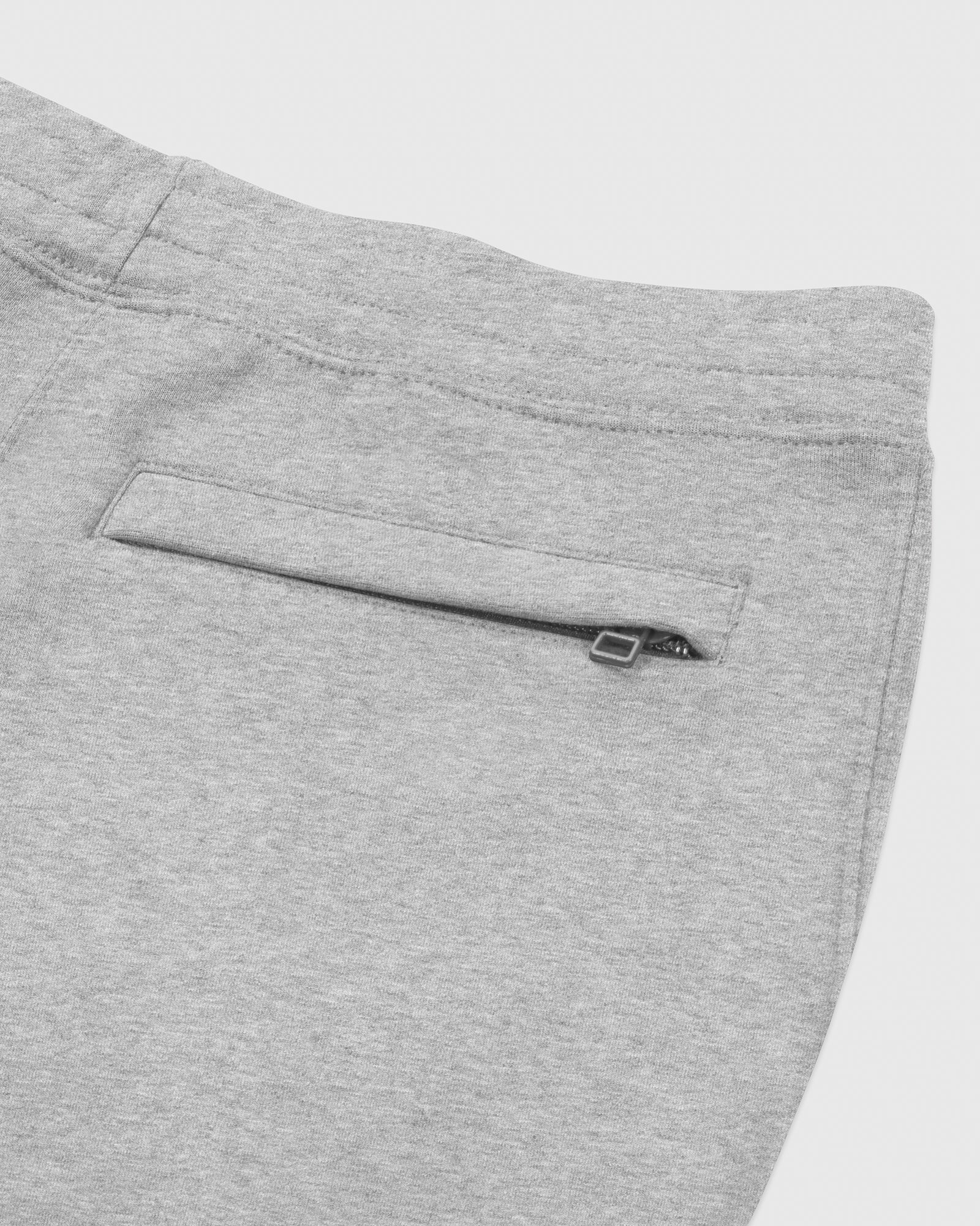 OVO FRANCHISE DOUBLE KNIT SWEATPANT - HEATHER GREY