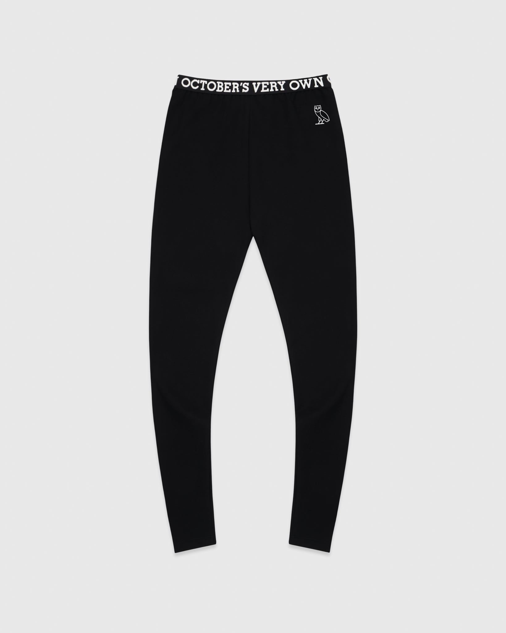 WOMEN'S OVO LEGGING - BLACK