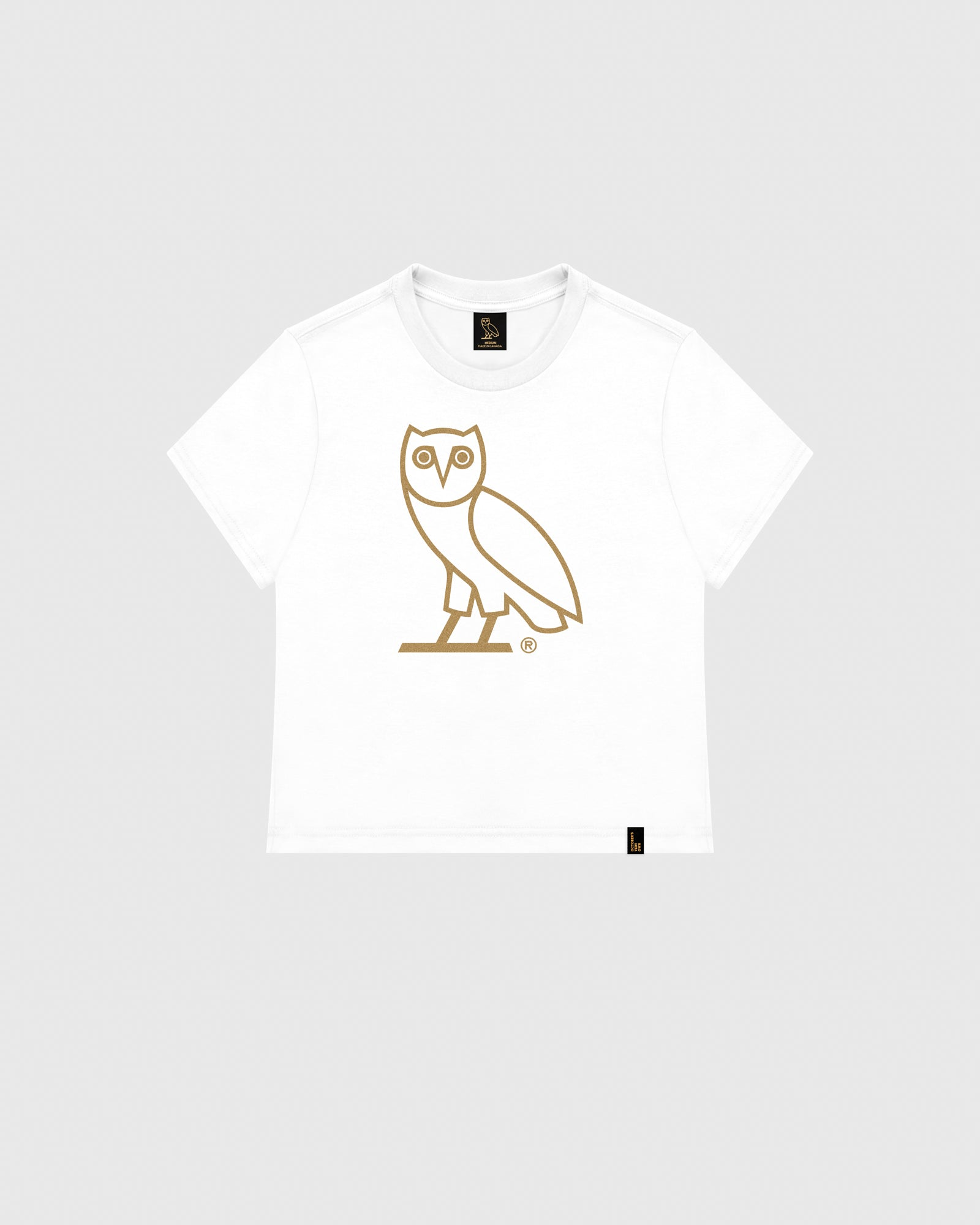 18f9dc1e1 WOMEN'S OVO OWL T-SHIRT - WHITE – October's Very Own Online US