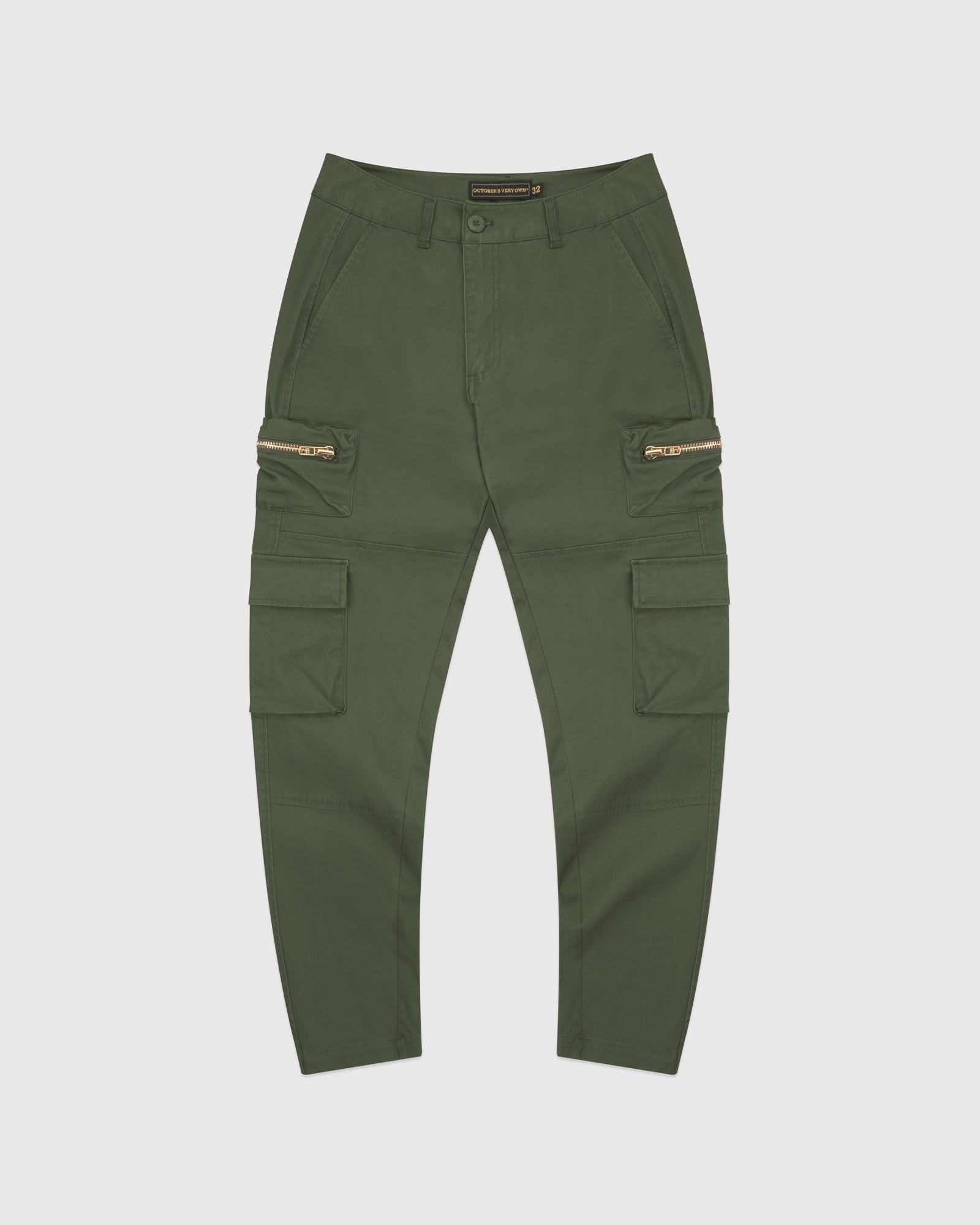 CARGO PANT - MILITARY GREEN IMAGE #1