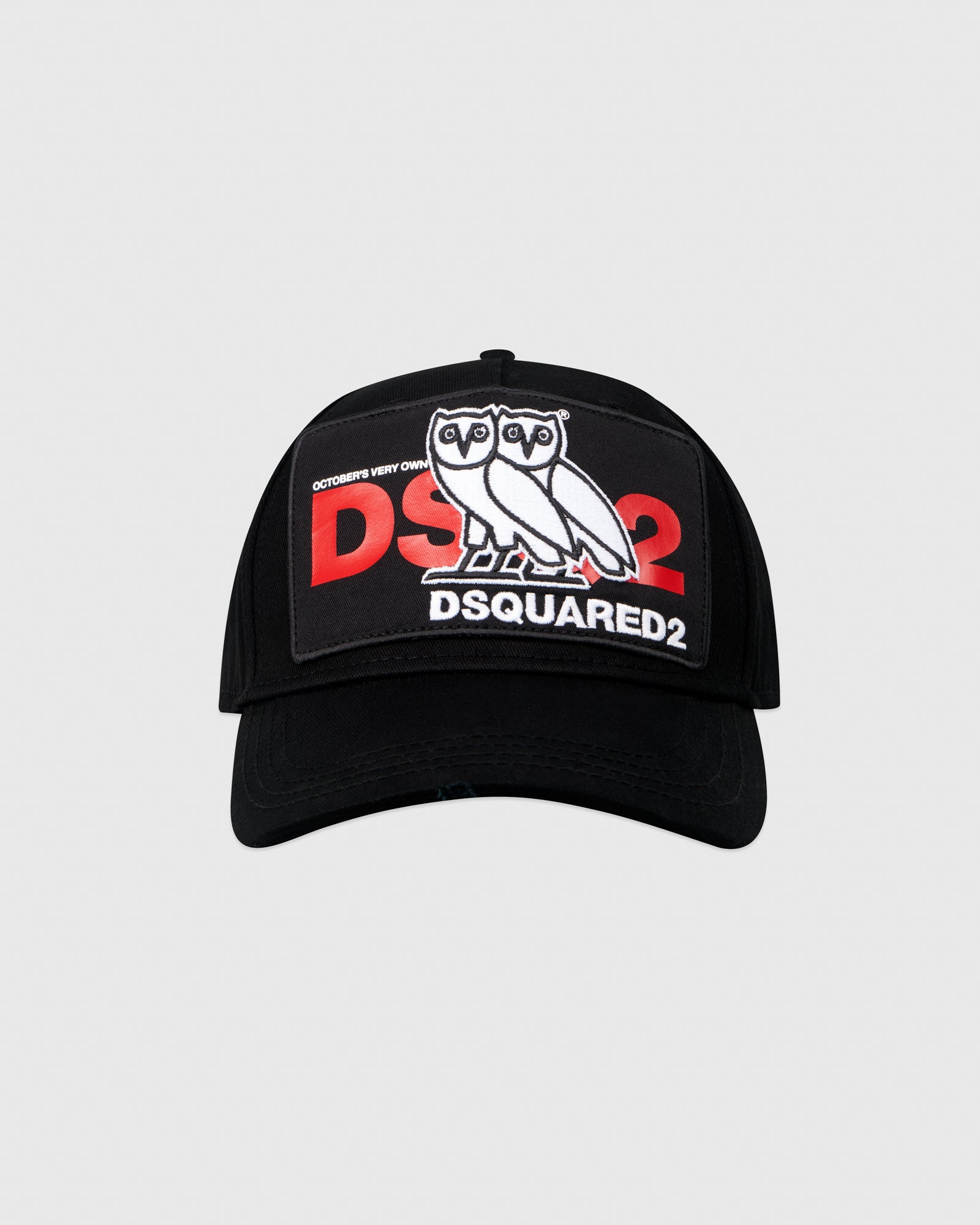 OVO x DSQUARED2 CAP - BLACK IMAGE #1