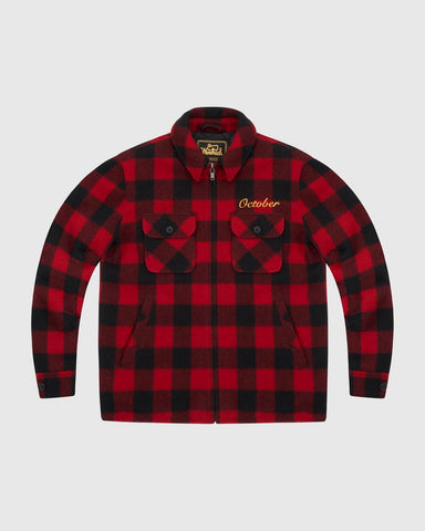 OVO x WOOLRICH MUSKOKA DINNER JACKET - RED