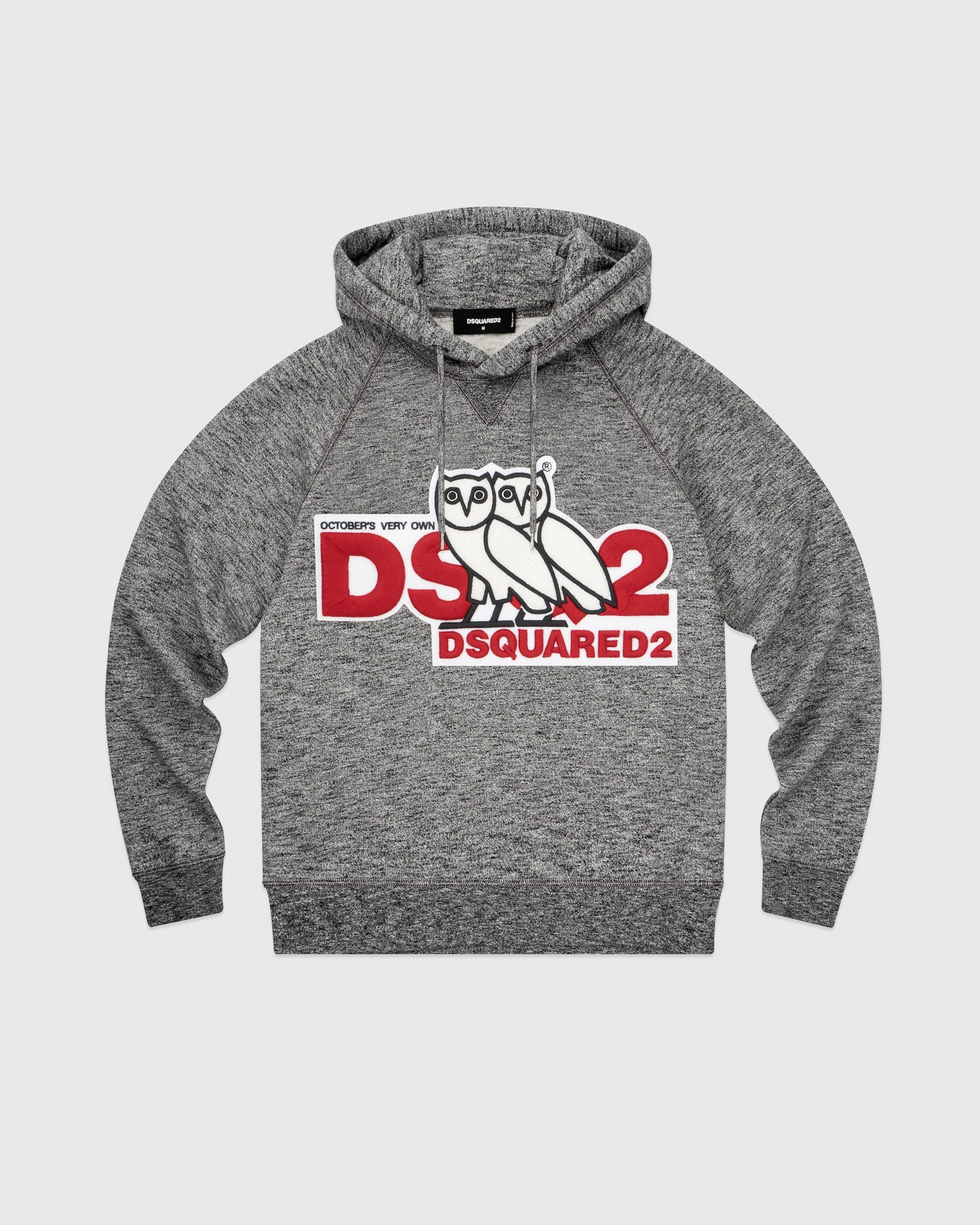 b8ba40017 OVO x DSQUARED2 HOODIE - GREY – October's Very Own Online US