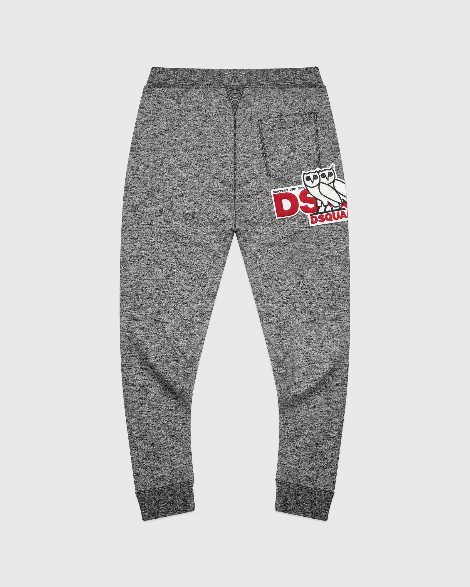 OVO x DSQUARED2 SWEATPANT - GREY IMAGE #4