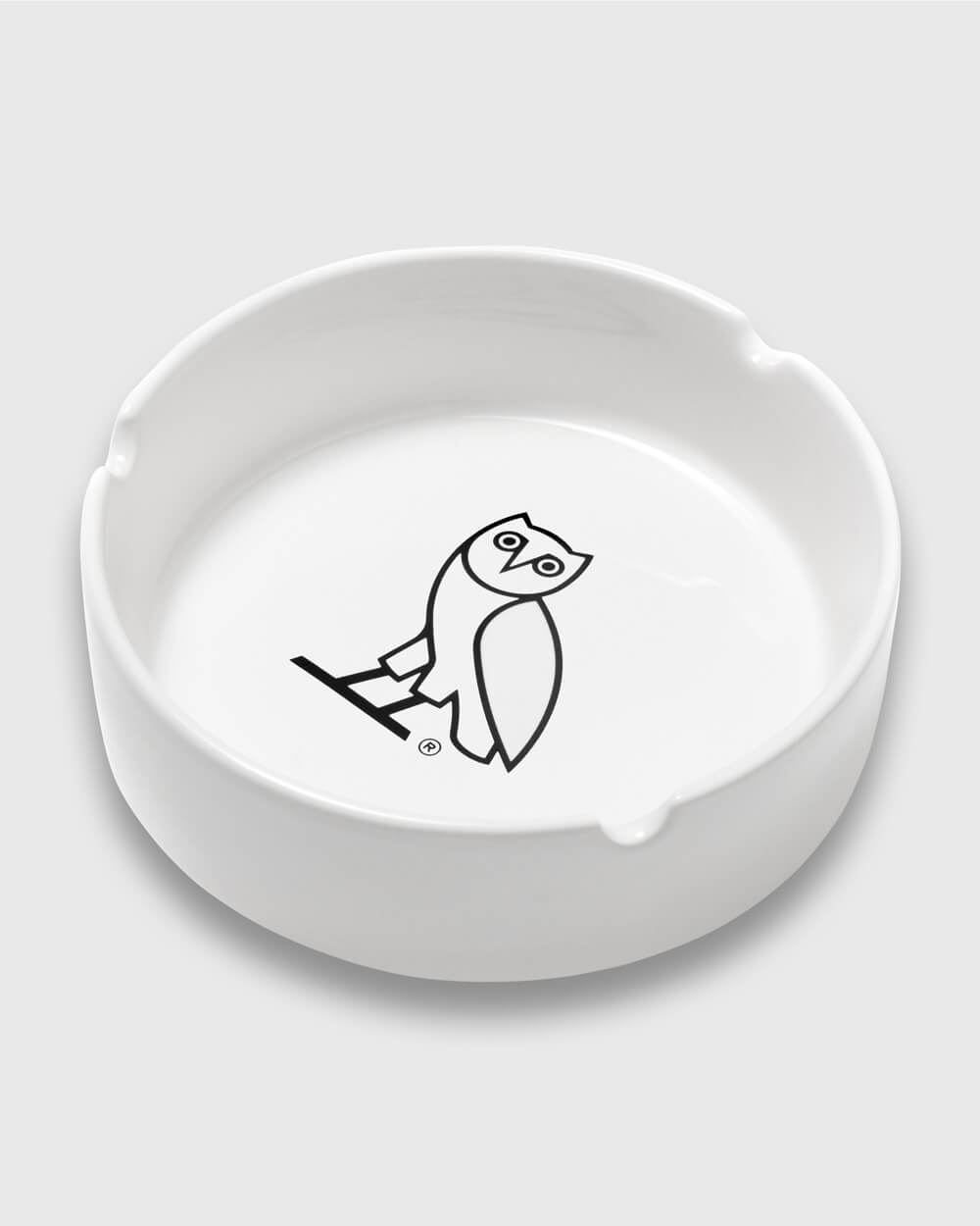 OWL ASHTRAY - WHITE