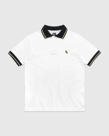 OVO ESSENTIALS POLO - WHITE