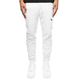 PATCH SWEATPANT - WHITE