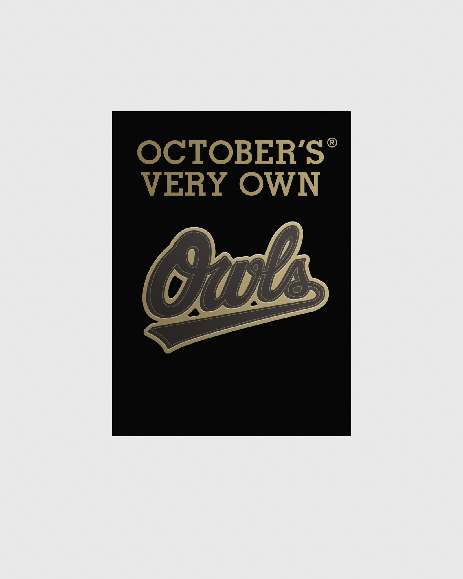 OVO OWLS PIN - BLACK