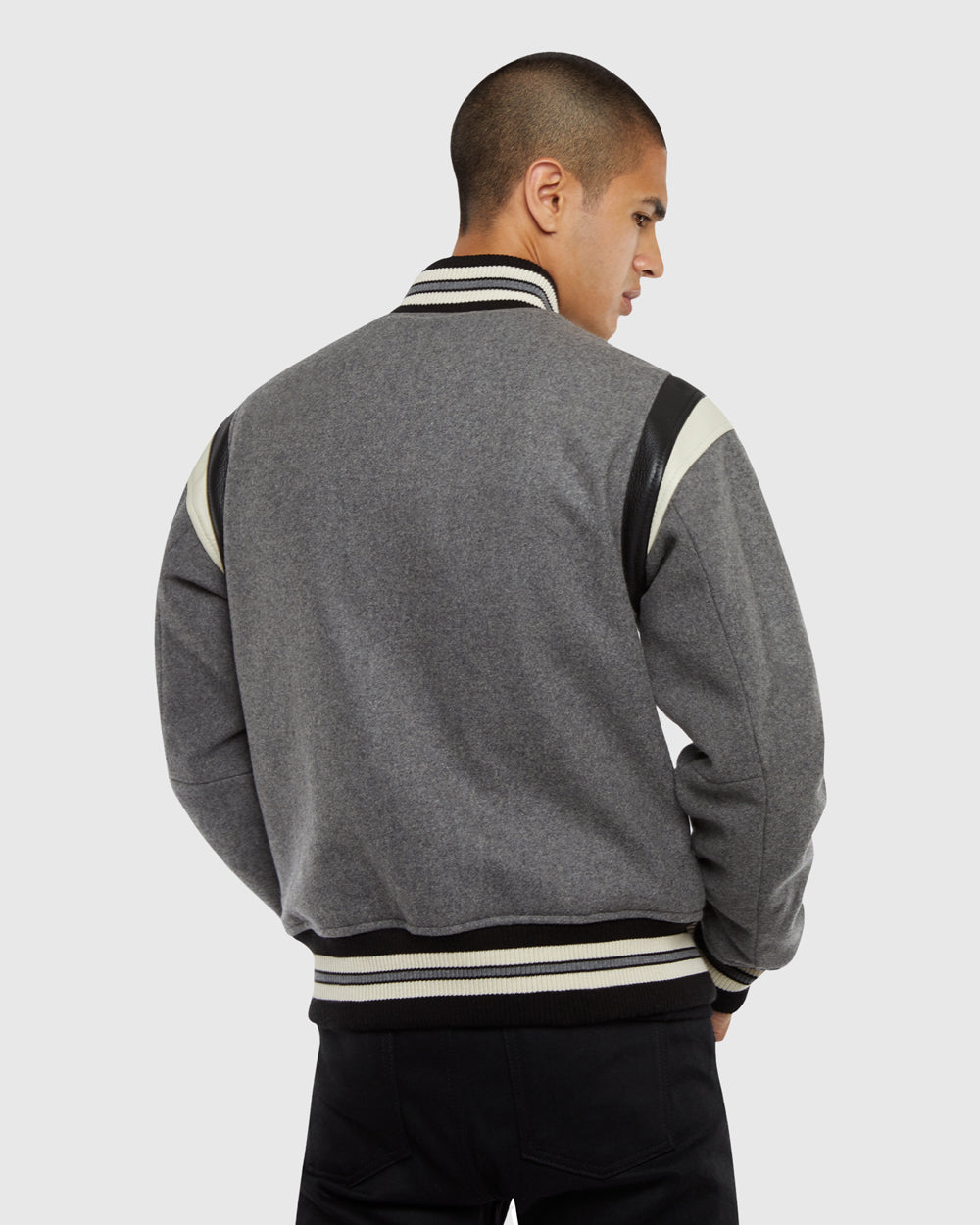 OVO SOPHOMORE JACKET - GREY
