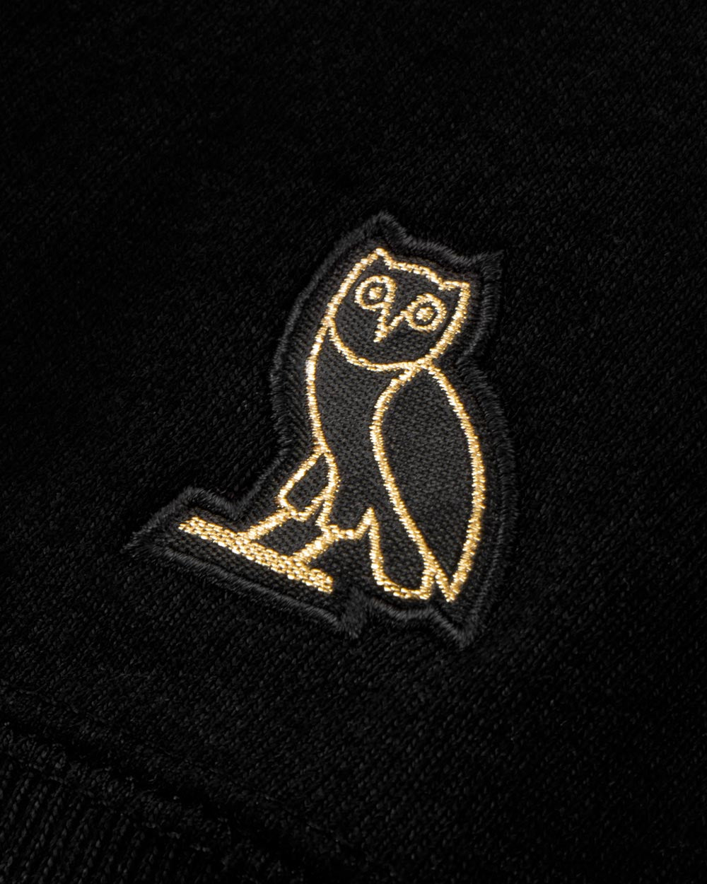 OVO TOURNAMENT HOODIE - BLACK