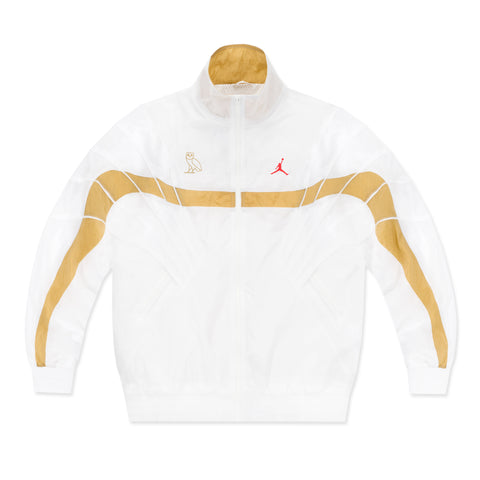 OVO JORDAN FLIGHT JACKET - WHITE