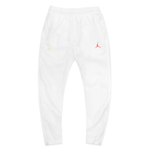 OVO JORDAN FLIGHT PANT - WHITE