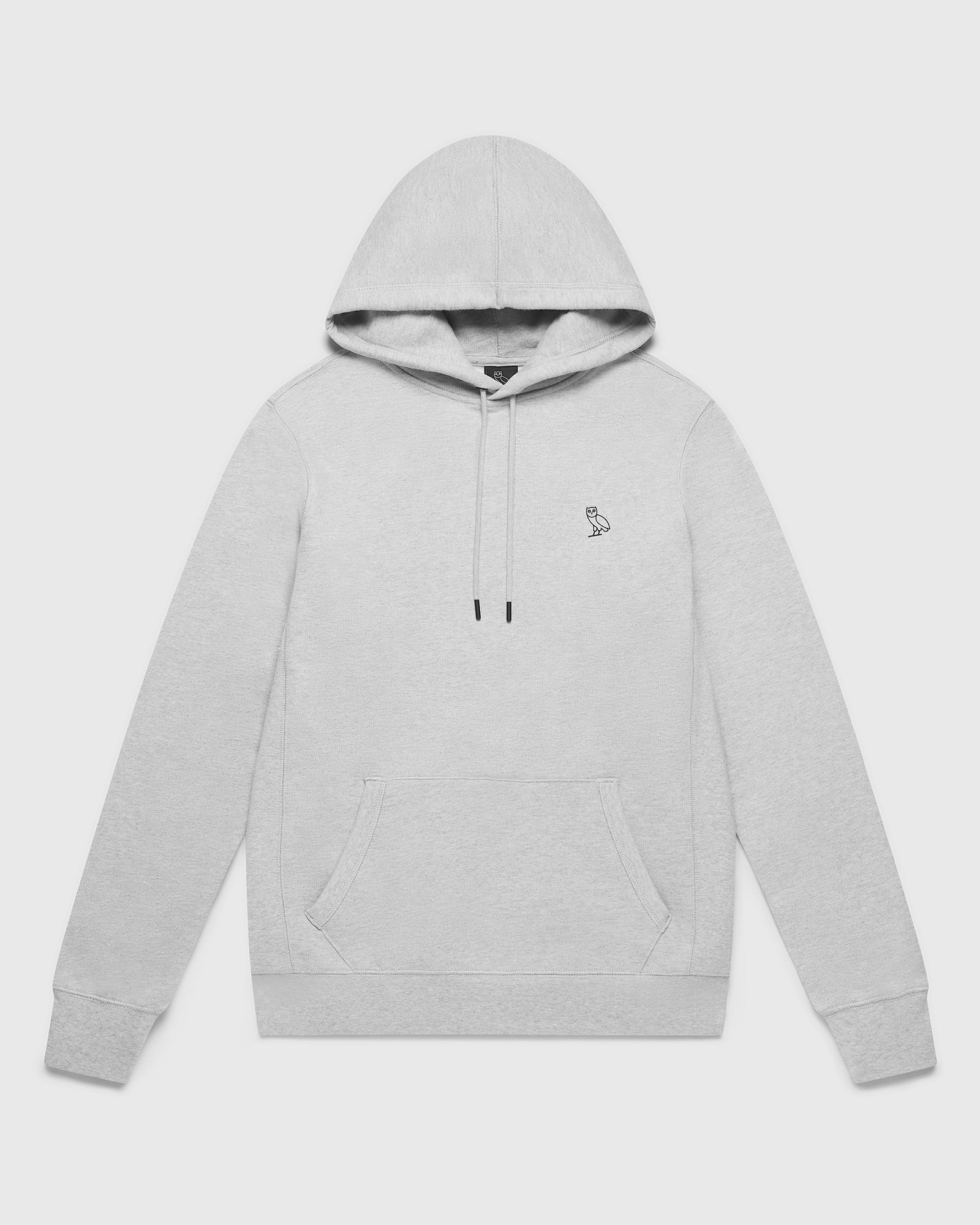 OVO ESSENTIALS HOODIE - HEATHER GREY IMAGE #1
