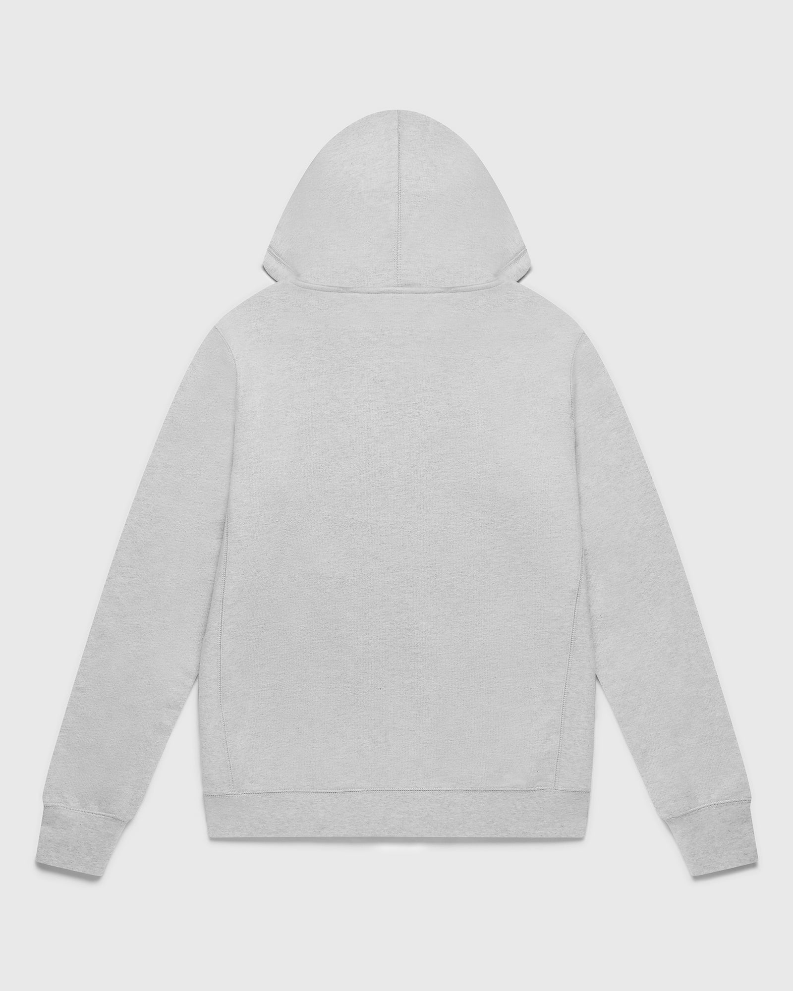 OVO ESSENTIALS ZIP HOODIE - HEATHER GREY IMAGE #2