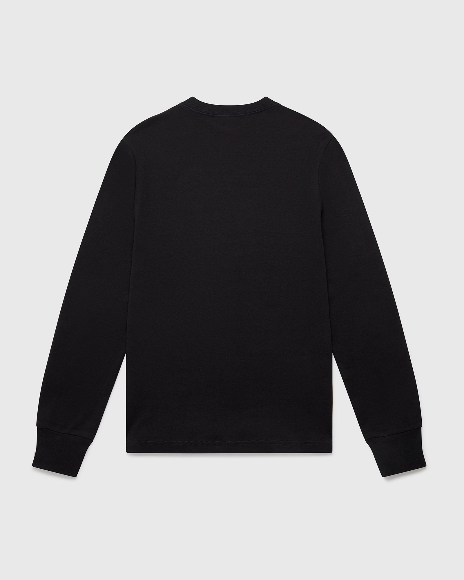OVO ESSENTIALS LONGSLEEVE T-SHIRT - BLACK IMAGE #2