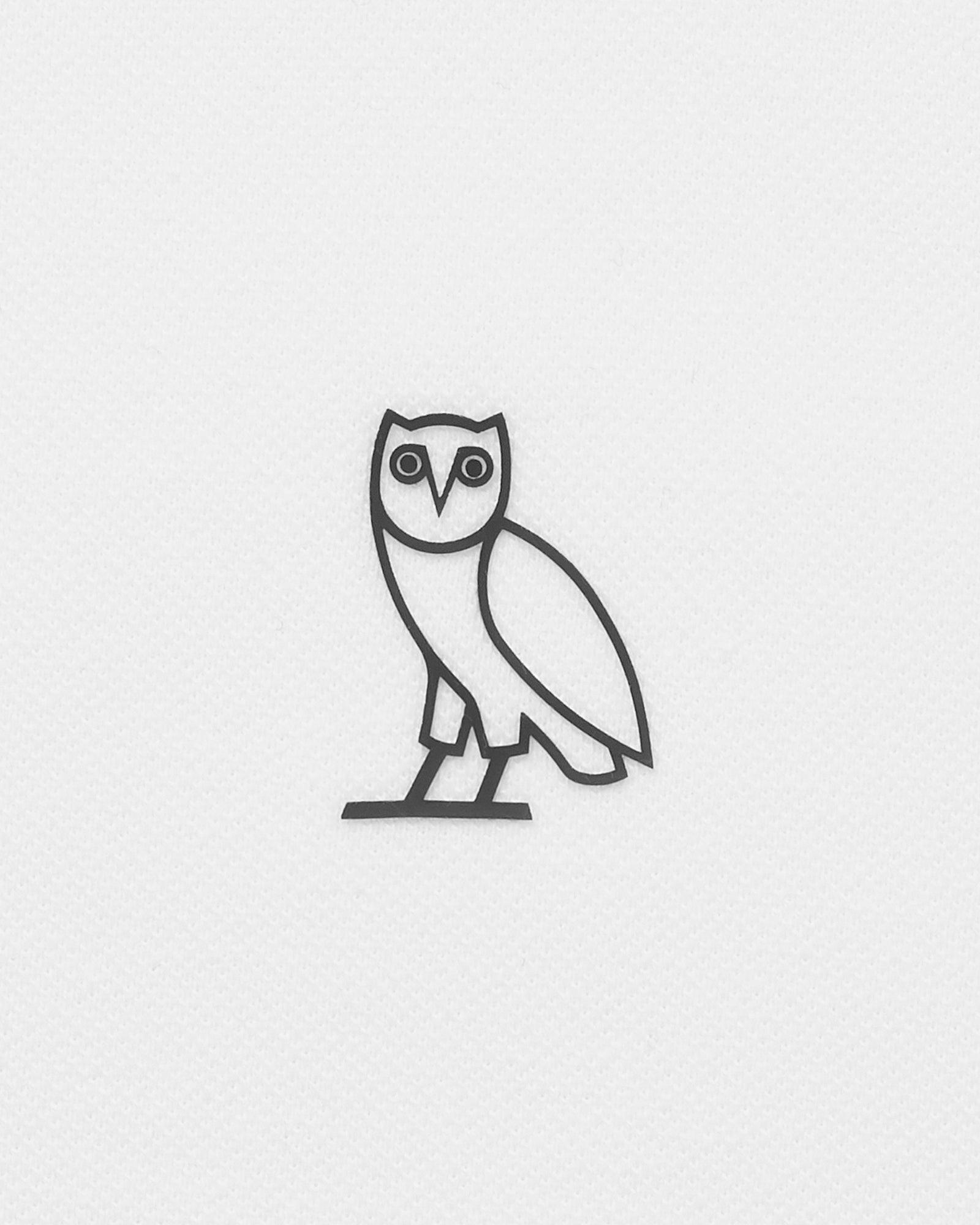 OVO ESSENTIALS POLO - WHITE IMAGE #3